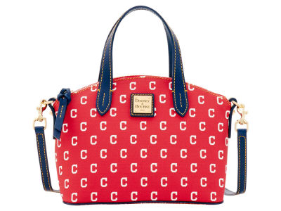 Cleveland Indians Dooney & Bourke Ruby Mini Satchel Crossbody
