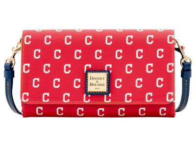 Cleveland Indians Dooney & Bourke Daphne Crossbody Wallet