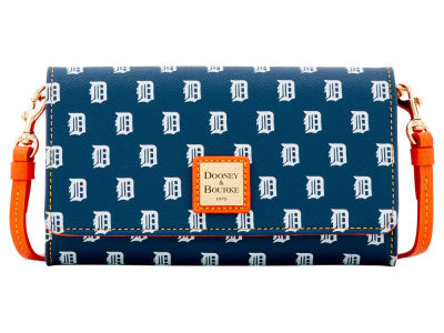 Detroit Tigers Dooney & Bourke Daphne Crossbody Wallet