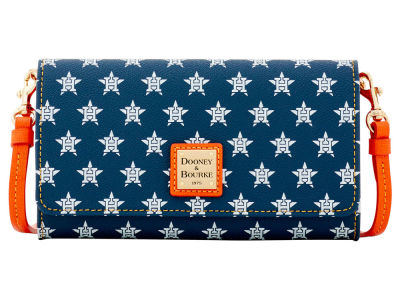 Houston Astros Dooney & Bourke Daphne Crossbody Wallet