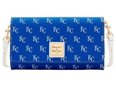 Kansas City Royals Dooney & Bourke Daphne Crossbody Wallet