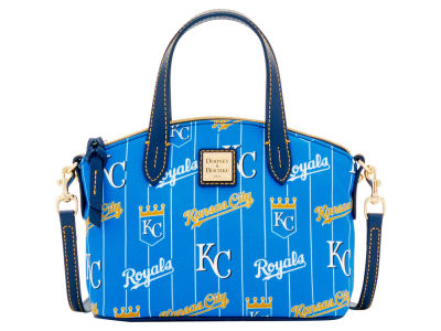 Kansas City Royals Dooney & Bourke Nylon Ruby Mini Satchel XBody