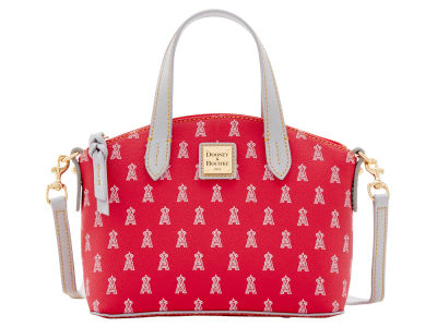 Los Angeles Angels Dooney & Bourke Ruby Mini Satchel Crossbody