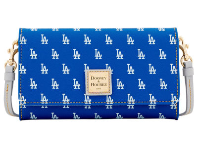 Los Angeles Dodgers Dooney & Bourke Daphne Crossbody Wallet