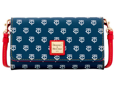 Minnesota Twins Dooney & Bourke Daphne Crossbody Wallet