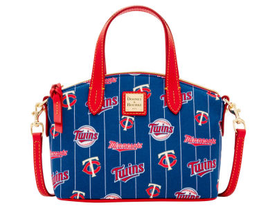 Minnesota Twins Dooney & Bourke Nylon Ruby Mini Satchel XBody