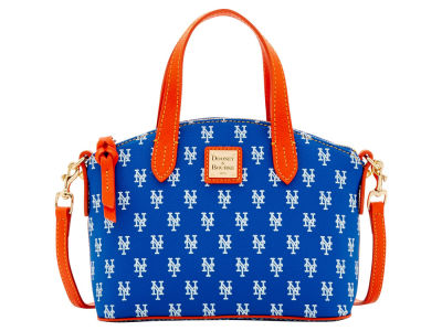 New York Mets Dooney & Bourke Ruby Mini Satchel Crossbody