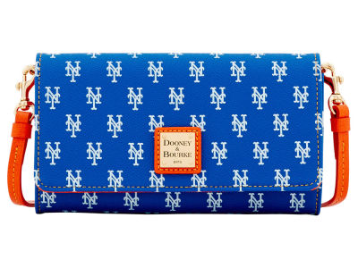 New York Mets Dooney & Bourke Daphne Crossbody Wallet