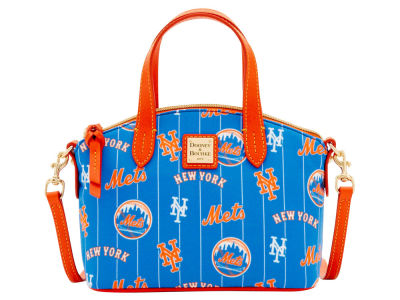 New York Mets Dooney & Bourke Nylon Ruby Mini Satchel XBody