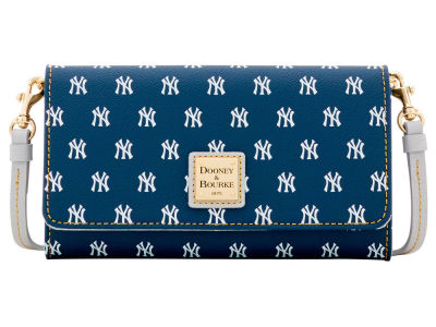 New York Yankees Dooney & Bourke Daphne Crossbody Wallet