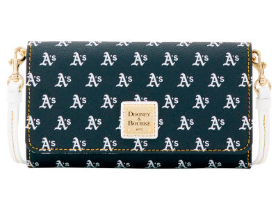 Oakland Athletics Dooney & Bourke Daphne Crossbody Wallet
