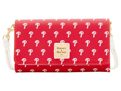 Philadelphia Phillies Dooney & Bourke Daphne Crossbody Wallet