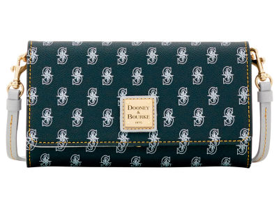 Seattle Mariners Dooney & Bourke Daphne Crossbody Wallet