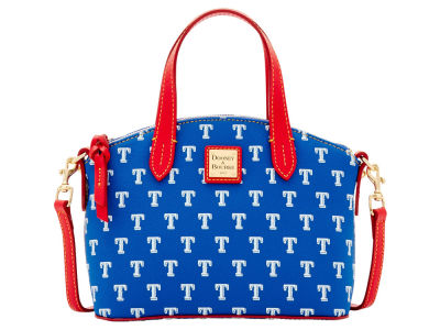Texas Rangers Dooney & Bourke Ruby Mini Satchel Crossbody
