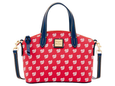 Washington Nationals Dooney & Bourke Ruby Mini Satchel Crossbody