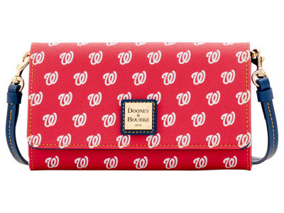 Washington Nationals Dooney & Bourke Daphne Crossbody Wallet