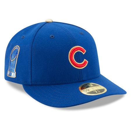 Chicago Cubs New Era MLB Low Profile AC 2016 World Series Commemorative Gold 59FIFTY