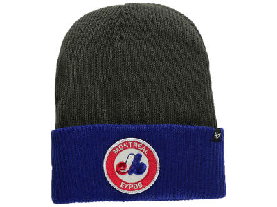 Montreal Expos '47 MLB Ice Block Cuff Knit