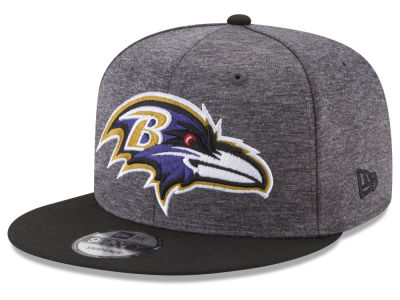 Baltimore Ravens New Era NFL Heather Huge 9FIFTY Snapback Cap