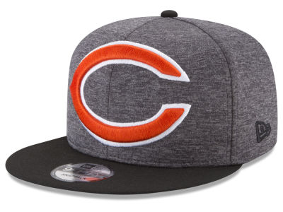 Chicago Bears New Era NFL Heather Huge 9FIFTY Snapback Cap