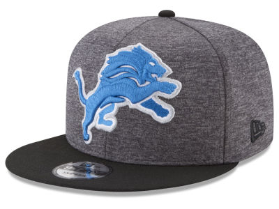 Detroit Lions New Era NFL Heather Huge 9FIFTY Snapback Cap