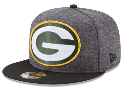 Green Bay Packers New Era NFL Heather Huge 9FIFTY Snapback Cap