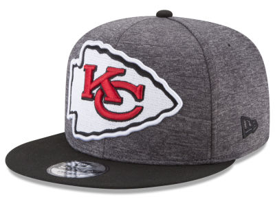 Kansas City Chiefs New Era NFL Heather Huge 9FIFTY Snapback Cap