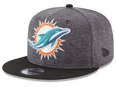 Miami Dolphins New Era NFL Heather Huge 9FIFTY Snapback Cap