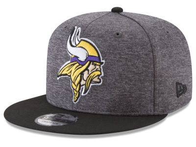 Minnesota Vikings New Era NFL Heather Huge 9FIFTY Snapback Cap