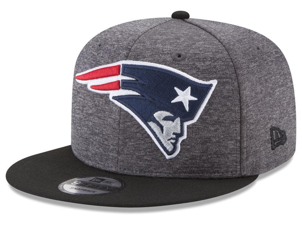 a6aa38386 New England Patriots New Era NFL Heather Huge 9FIFTY Snapback Cap ...