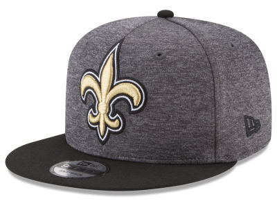 New Orleans Saints New Era NFL Heather Huge 9FIFTY Snapback Cap