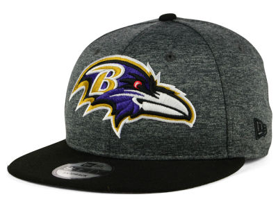 Baltimore Ravens New Era NFL Kids Heather Huge 9FIFTY Snapback Cap