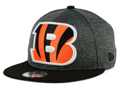 Cincinnati Bengals New Era NFL Kids Heather Huge 9FIFTY Snapback Cap