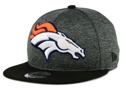 Denver Broncos New Era NFL Kids Heather Huge 9FIFTY Snapback Cap