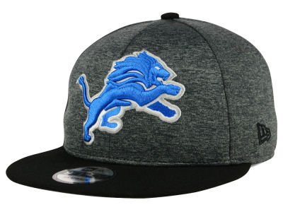 Detroit Lions New Era NFL Kids Heather Huge 9FIFTY Snapback Cap