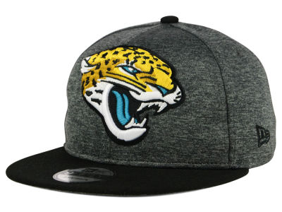 Jacksonville Jaguars New Era NFL Kids Heather Huge 9FIFTY Snapback Cap