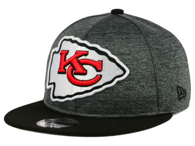 Kansas City Chiefs New Era NFL Kids Heather Huge 9FIFTY Snapback Cap