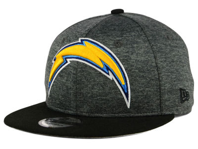 Los Angeles Chargers New Era NFL Kids Heather Huge 9FIFTY Snapback Cap
