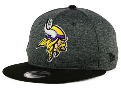 Minnesota Vikings New Era NFL Kids Heather Huge 9FIFTY Snapback Cap
