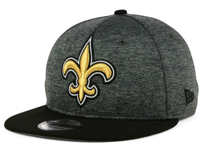 New Orleans Saints New Era NFL Kids Heather Huge 9FIFTY Snapback Cap