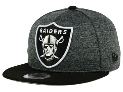 Oakland Raiders New Era NFL Kids Heather Huge 9FIFTY Snapback Cap