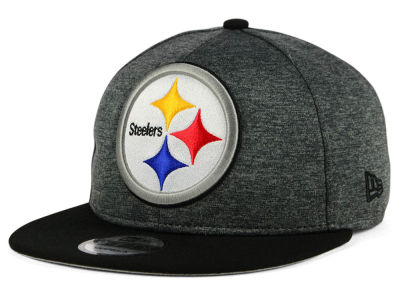 Pittsburgh Steelers New Era NFL Kids Heather Huge 9FIFTY Snapback Cap