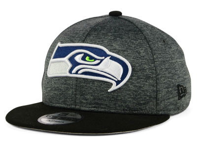 Seattle Seahawks New Era NFL Kids Heather Huge 9FIFTY Snapback Cap
