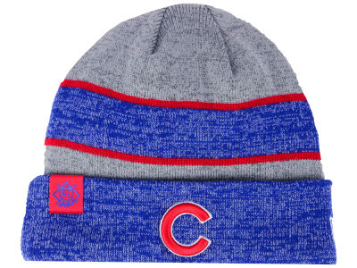 Chicago Cubs New Era 2017 MLB On Field Sport Knit