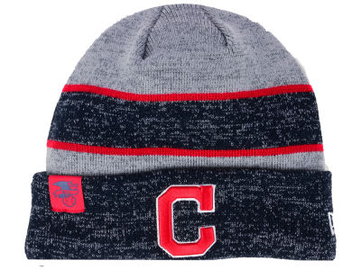 Cleveland Indians New Era 2017 MLB On Field Sport Knit