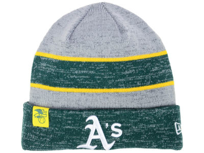 Oakland Athletics New Era 2017 MLB On Field Sport Knit