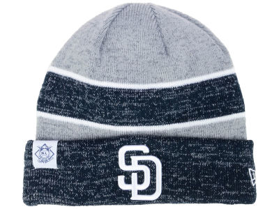 San Diego Padres New Era 2017 MLB On Field Sport Knit
