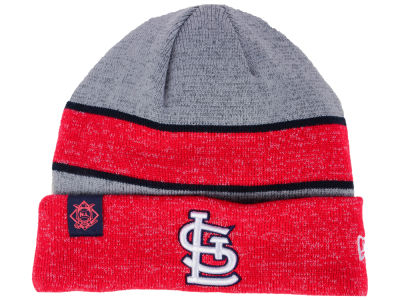 St. Louis Cardinals New Era 2017 MLB On Field Sport Knit