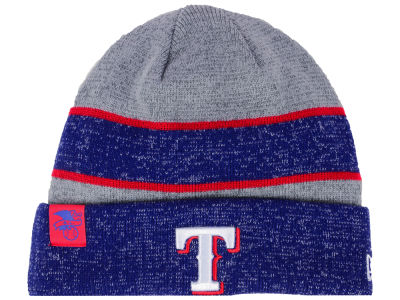 Texas Rangers New Era 2017 MLB On Field Sport Knit