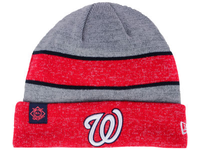 Washington Nationals New Era 2017 MLB On Field Sport Knit